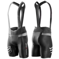 COMPRESSPORT UNISEX CYCLING BRUTAL BIB SHORTS