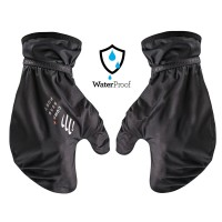 COMPRESSPORT HURRICANE WATERPROOF 10/10 MITTENS - BLACK