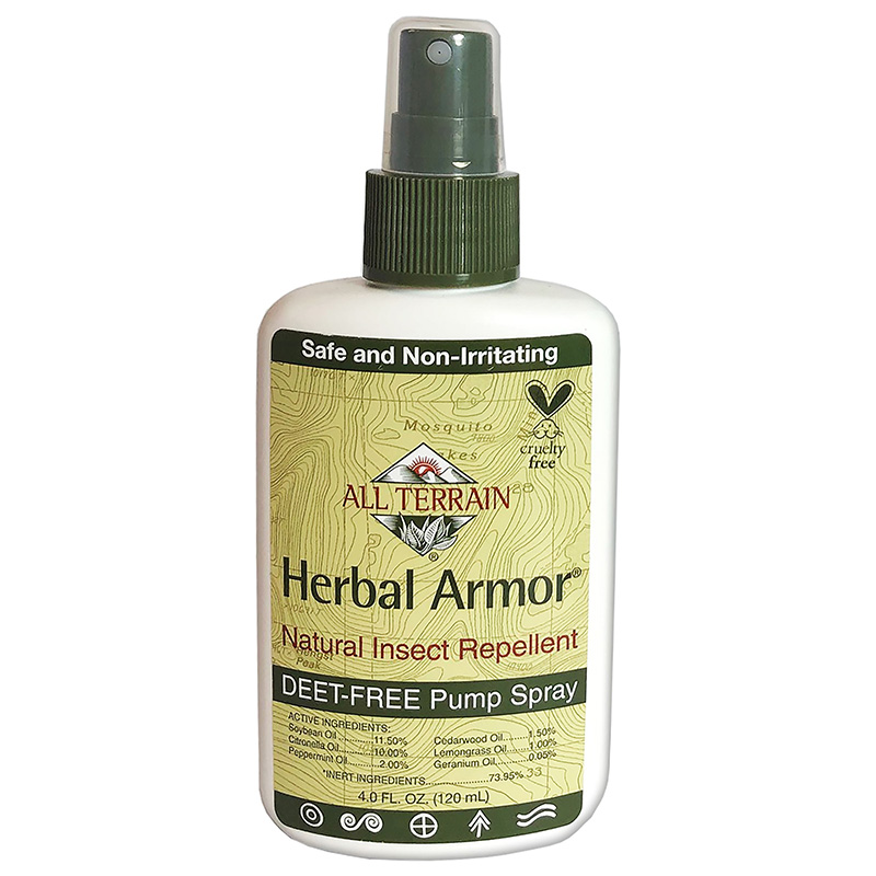 All Terrain Herbal Armor DEET-free, Natural Insect Repellent 4oz.