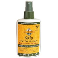 All Terrain Kids Herbal Armor DEET-free, Natural Insect Repellent 4oz.