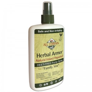 All Terrain Herbal Armor DEET-free, Natural Insect Repellent Value Size 8oz.