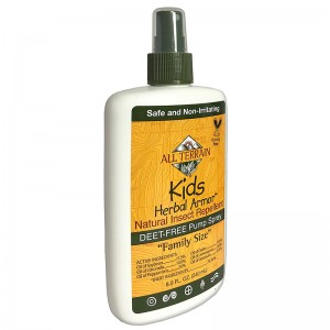All Terrain Kids Herbal Armor DEEt-free, Natural Insect Repellent Value Size 8oz.