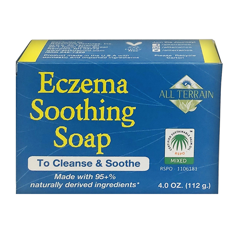 All Terrain Eczema Soothing Soap 4oz