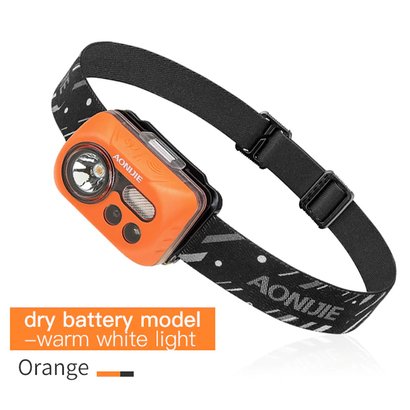 AONIJIE E4031 HEADLAMP ORANGE-BATTERY