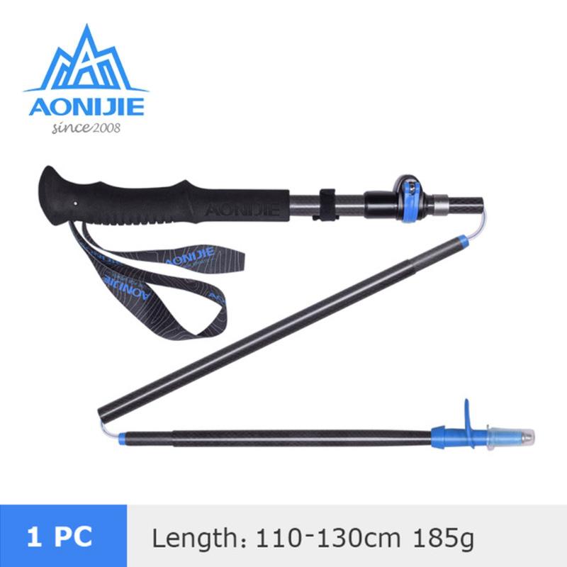 AONIJIE E4087 CARBON TREKKING POLE BLUE 110-130CM - SINGLE