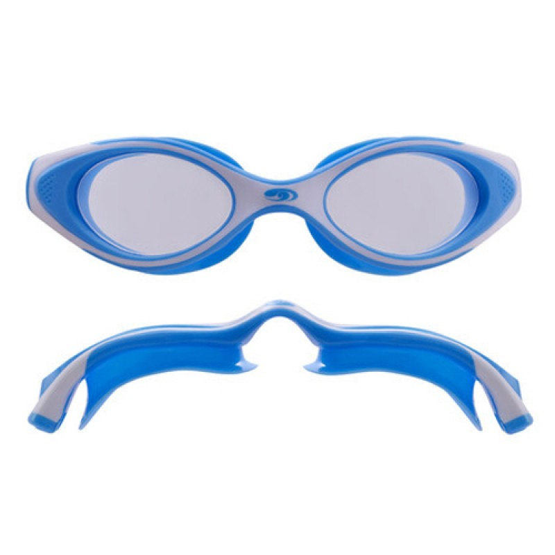 Blueseventy Hydra-Vision JR Goggles - Blue/White Clear