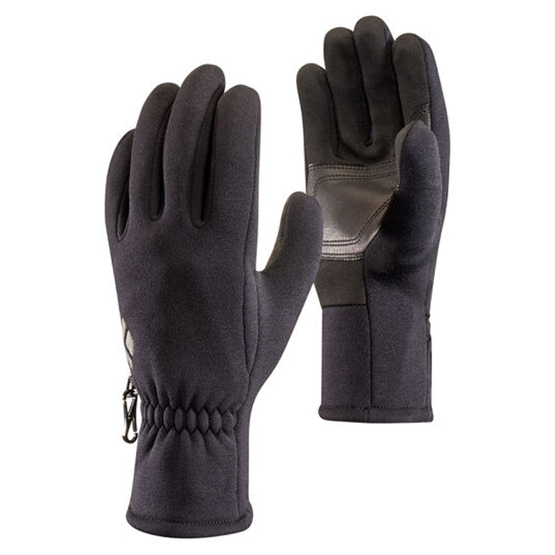 BLACK DIAMOND HEAVYWEIGHT SCREENTAP FLEECE GLOVES - BLACK