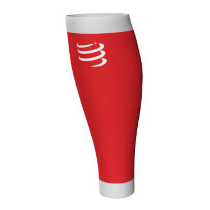 Compressport R1 Calf Sleeves - Red