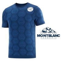 COMPRESSPORT TRAINING TSHIRT SS BADGES - MONT BLANC 2020