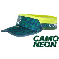 COMPRESSPORT VISOR ULTRALIGHT JUNGLE GREEN - CAMO NEON 2020