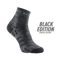 COMPRESSPORT PRO RACING SOCKS V3.0 RUN HIGH - BLACK EDITION 2020