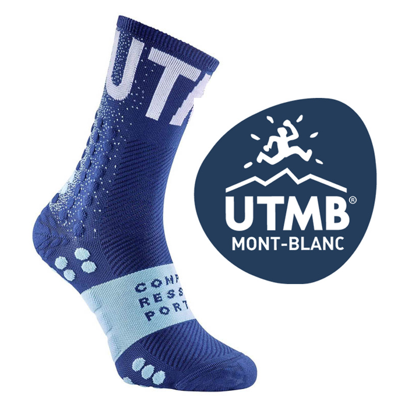 COMPRESSPORT PRO RACING SOCKS V3.0 ULTRA TRAIL - UTMB 2020