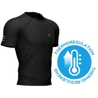 COMPRESSPORT TRAINING SS TSHIRT BLACK