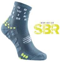 COMPRESSPORT PRO RACING SOCKS V3.0 RUN HIGH - BORN TO SWIMBIKERUN 2020