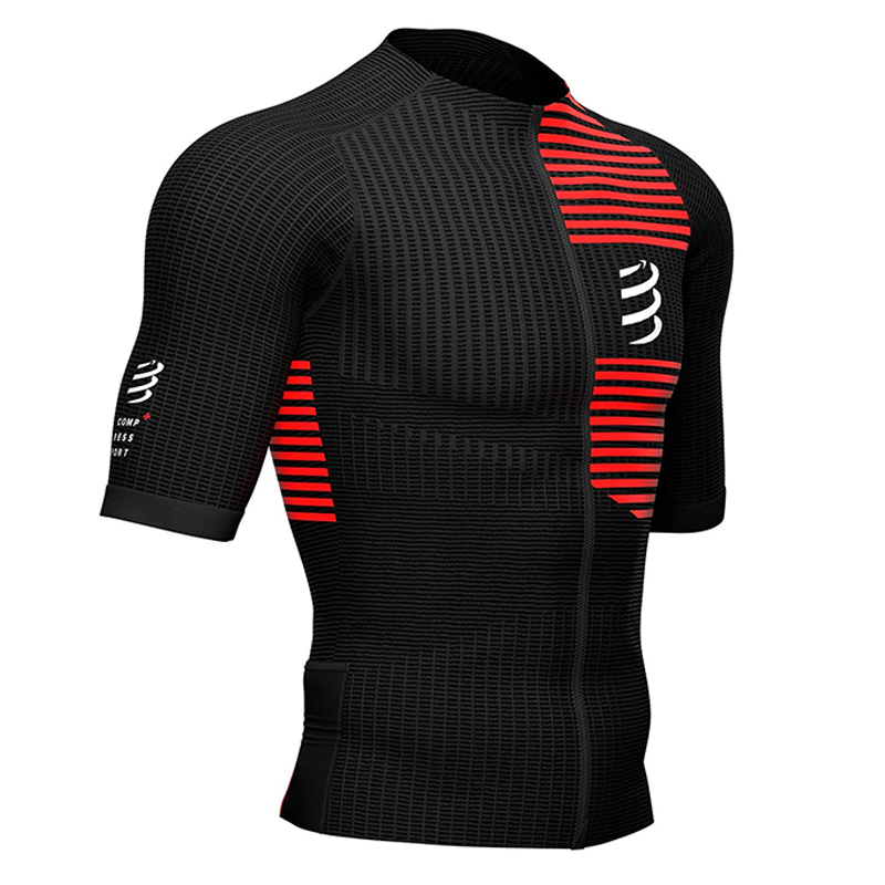 COMPRESSPORT TRIATHLON POSTURAL SS TOP BLACK