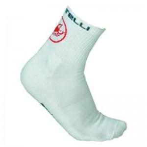 CASTELLI MERINO SOCKS - WHITE