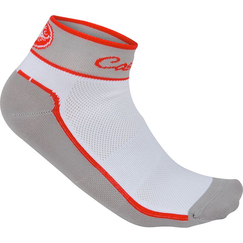 CASTELLI IMPALPABILE SOCKS - GREY/WHITE