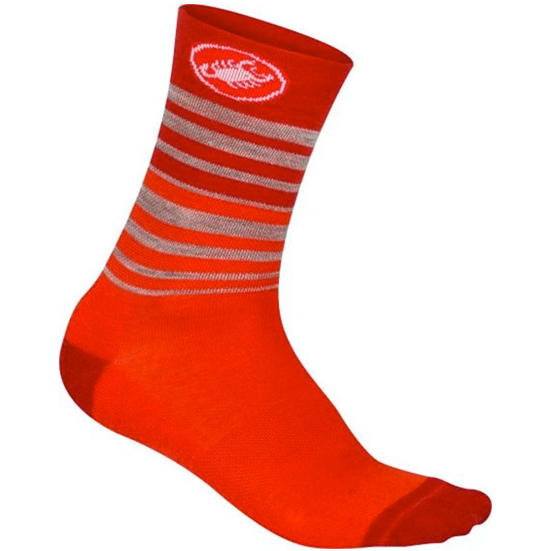 CASTELLI RIGHINA WOMEN SOCKS 13 INCH - RED