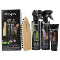 GRANGERS CLEAN FOOTWEAR CARE KIT