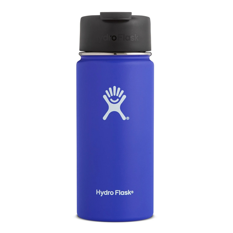 HYDRO FLASK 16OZ WIDE MOUTH W/ FLIP CAP - BLUEBERRY