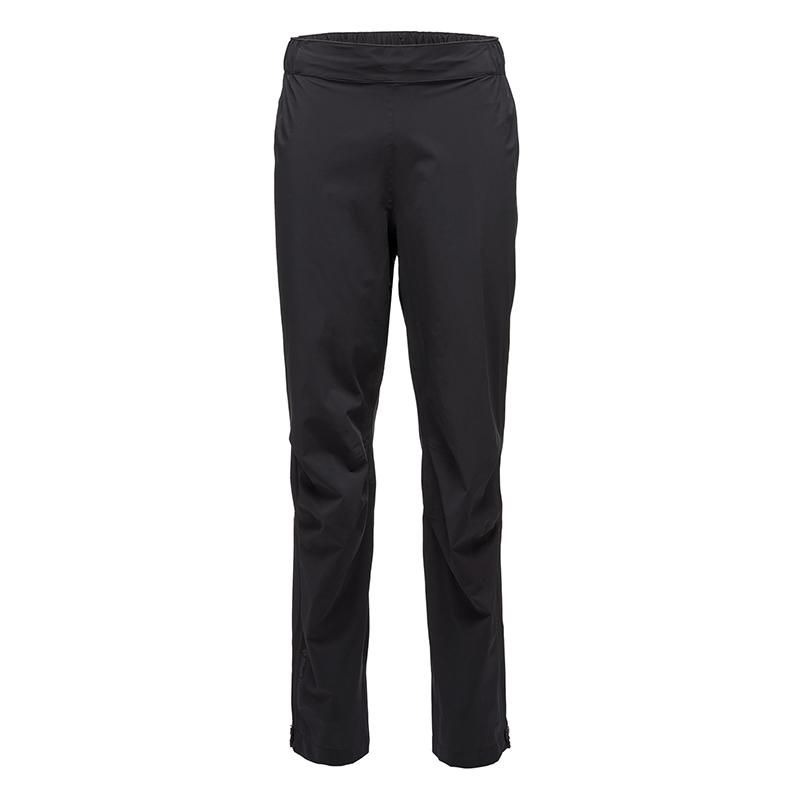 BLACK DIAMOND STORMLINE STRETCH RAIN PANTS - BLACK