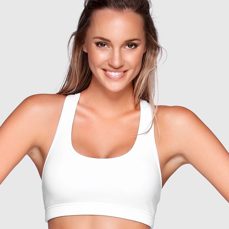 LORNA JANE COMFORT SPORTS BRA - WHITE