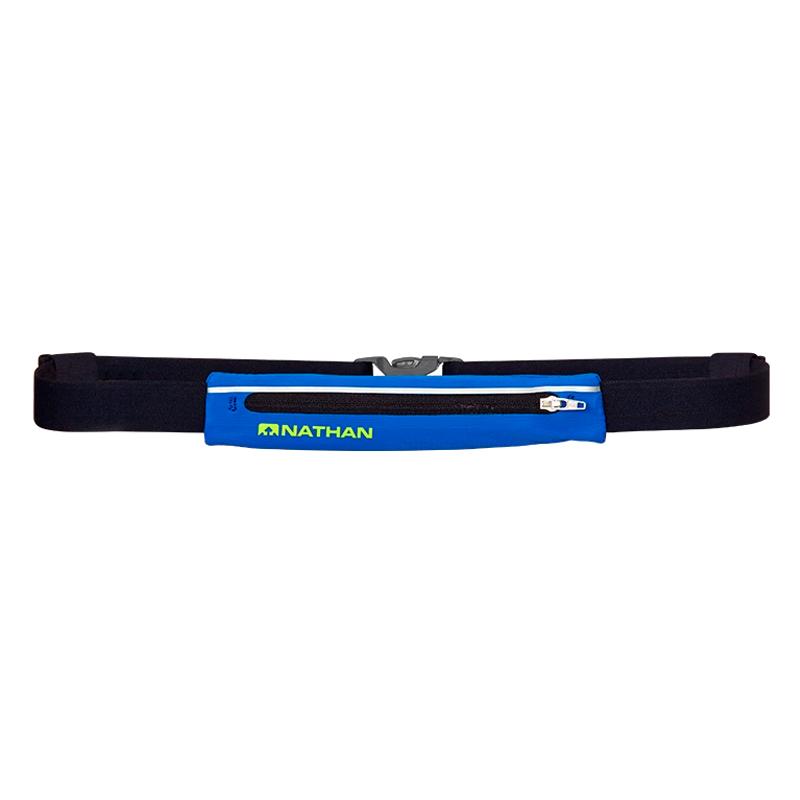 NATHAN MIRAGE PAK ADJUSTABLE BELT - ELECTRIC BLUE/LEMONADE