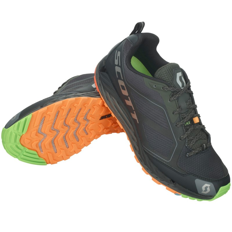 SCOTT T2 Kinabalu 3.0 Mens Trail Running Shoes - Black/Grey