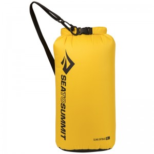SEA TO SUMMIT, SLING DRY BAG 10L - YELLOW