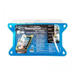 SEA TO SUMMIT, TPU GUIDE WATERPROOF FOR SMALL TABLETS - BLUE