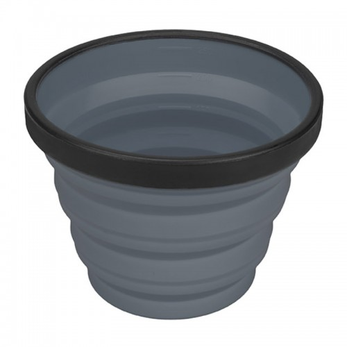 SEA TO SUMMIT, COLLAPSIBLE X-CUP - GREY