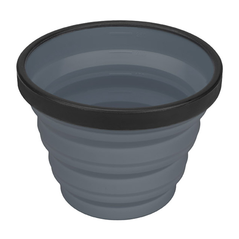 SEA TO SUMMIT COLLAPSIBLE X-CUP - GREY