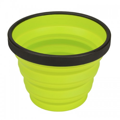 SEA TO SUMMIT, COLLAPSIBLE X-CUP - LIME