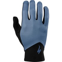 SPECIALIZED RENEGADE LONG FINGER GLOVES - DUST BLUE