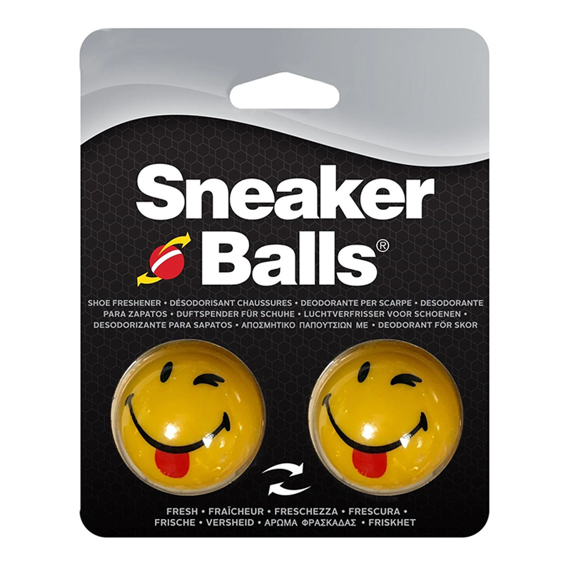 SNEAKER DEODORISED BALLS - WINK TONGUE OUT HAPPY