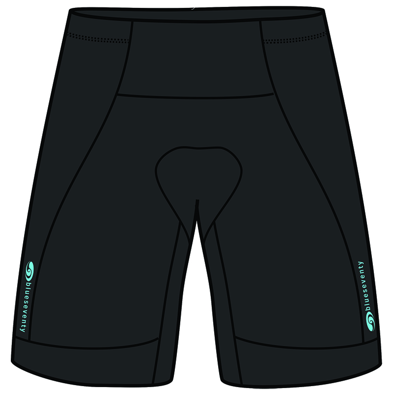 Blueseventy TX1000 Special Edition Triathlon Short - Black