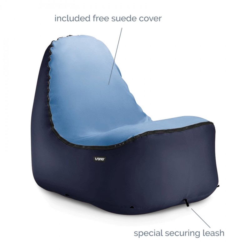 TRONO Camping Chair - Blue