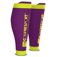 COMPRESSPORT R2V2 CALF SLEEVES - PURPLE (PAIR)