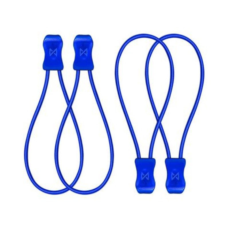 SnapLaces No-Tie Performance Laces - Blue