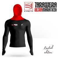★TARAWERA NEW ZEALAND ULTRA MARATHON COLLECTION★ COMPRESSPORT ULTRA-TRAIL 180G RACING HOODIE