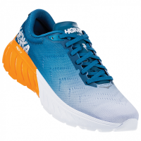 Hoka One One Men Mach 2 Road Shoes - Corsair Blue/Bright Marigold