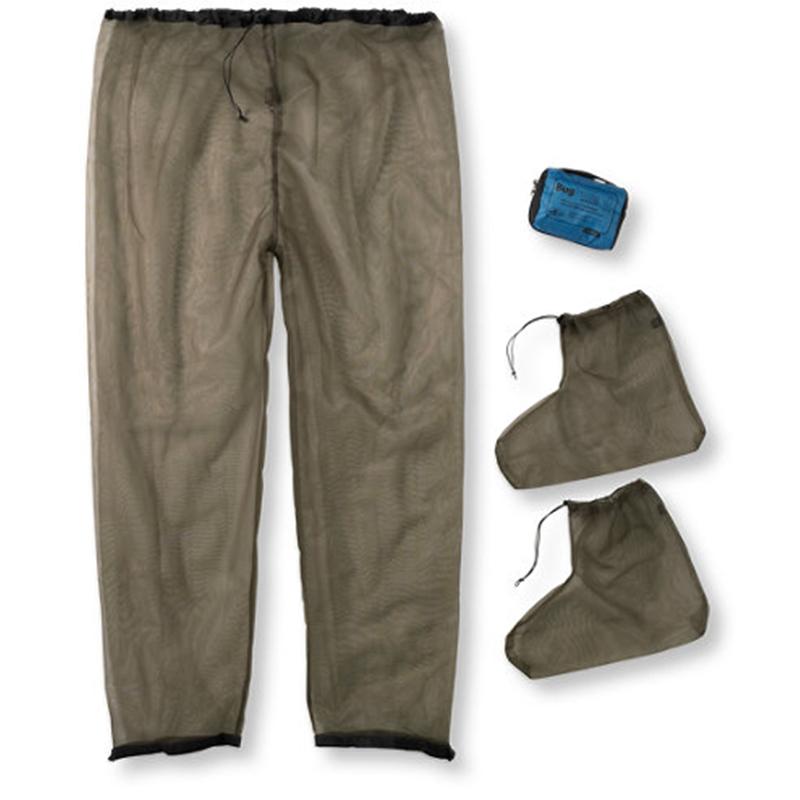 SEA TO SUMMIT Bug Pants & Socks - OLIVE (SMALL)