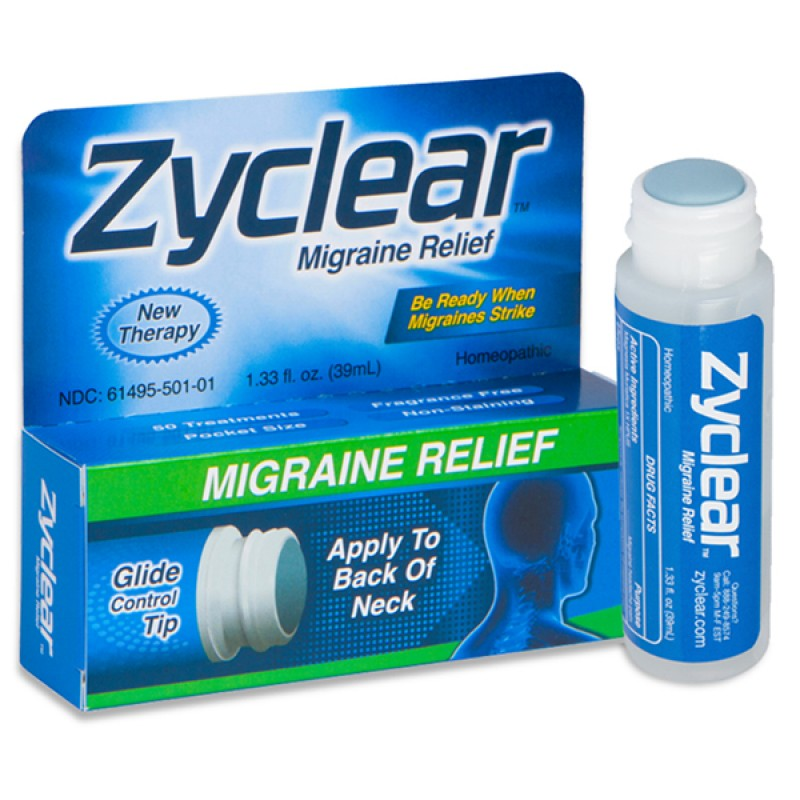 Zyclear Migraine Relief 1.33oz (39ml)