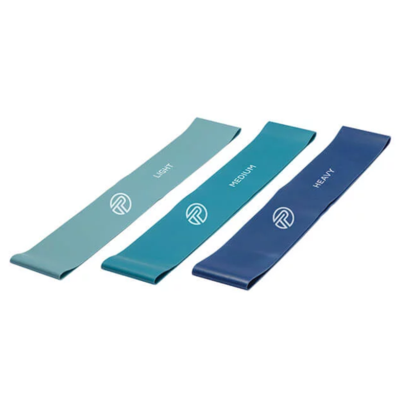 PRO-TEC Resistance Bands - Pack of 3