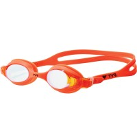 TYR KIDS' SWIMPLE MIRRORED GOGGLES - MANGO