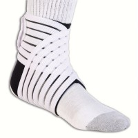 PRO-TEC DOUBLE ANKLE WRAP COMPRESSION ANKLE SUPPORT