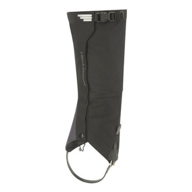 BLACK DIAMOND APEX GAITER - BLACK (PAIR)