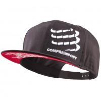 COMPRESSPORT FLAT CAP - BLACK