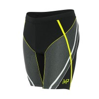 MICHAEL PHELPS MEN FAST JAMMER - BLACK/BRIGHT GREEN