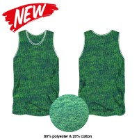 PERFORMANCE LIFESTYLE SINGLET - GREEN